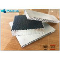 China High Rigid Aluminum Honeycomb Core Board , Honeycomb Material For Sandwich Panels on sale
