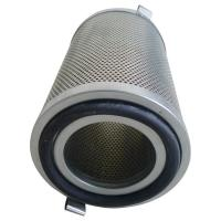 Cheap Aluminum Cap Oil Mist Filter Element With Galvanized Perforated Plates Core for sale