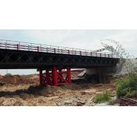 Cheap Double lane Bailey Bridge / Modular Steel Panel Bridge/ steel truss modular bridge for sale