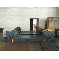 Cheap Dual PU Wheel Welding Pipe Turning Rolls / Conventional Welding Rotator Loading 200T Pressure Vessel for sale