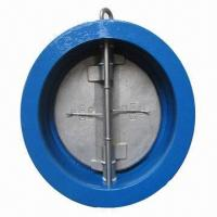Cheap Double-plate check valve in wafer type, available in size range from 2 to 40 inches diameter for sale