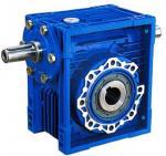 Cheap 75:1 Ratio High Efficiency / Torque NRV Series Worm Gear Reduction Box 1400Rpm for sale
