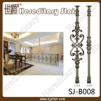 Cheap Decorative Casting Aluminum Balustrade for House (SJ-B008) for sale