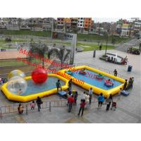 Cheap rectangular inflatable pool inflatable ball pool for sale