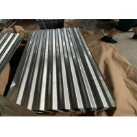 Cheap AS 1397 G550 (HRB≥85) , ASTM A653 Zinc Hot Dipped Galvanized Corrugated Roofing Sheet for sale
