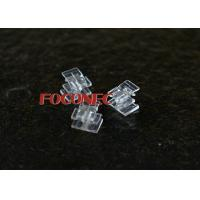 Cheap Transparent Clip for LC Duplex Connector , ABS Material , Fiber Optic Accessories for sale