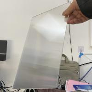 Cheap PS rigid lenticular plastic 20 LPI flip lenticular effect thickness 3 mm designed for flip effect on digital printer for sale