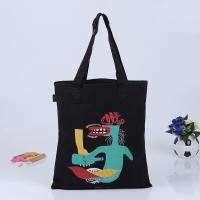 Cheap high quality eco custom printed promotional cotton canvas tote bag for sale