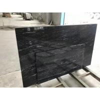 China High Strength Jet Black Solid Granite Worktops For Residental Appartment on sale