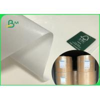 China FDA FSC Certificated Food Grade Mg White Kraft Paper Roll 32 Grams To 40 Grams on sale