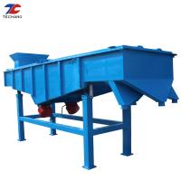 China High Efficiency Linear Vibrating Screen 12 Months Warranty For Silica Sand Classification on sale