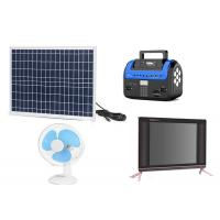 Cheap Kenya M Pesa Solar , Pay As You Go Solar Panels Easy Operation With FM Radio for sale