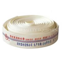 Cheap PU Lined Single Jacket Fire Hose for sale