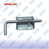 China 02407  Trailer door spring latch spring loaded latch shoot bolt on sale