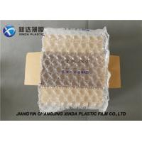 Cheap 20 Mic Thickness Air Bubble Wraps Packaging Plastic Film For Art Objects for sale
