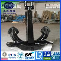 Cheap Japan stockless Anchor with KR LR BV NK ABS DNV certification for sale