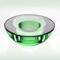 Glass Tealight Candle Holder Made Of Colored Glass With