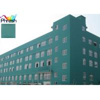 China White Glossy Outdoor Water Resistant Paint Chemical Resistance For Office Hotel on sale
