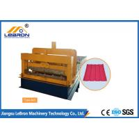 China Steel Chrome Plated Glazed Tile Forming Machine High Production Long Time Service on sale