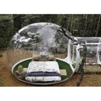 Cheap Clear Inflatable Bubble Tent Inflatable Double Stitching Clear Camping Tent for sale