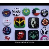 Cheap Custom Logo Regular Size Tin Button Badge With Safety Pin,Cheap Pin Badges,Metal Badge Set for sale