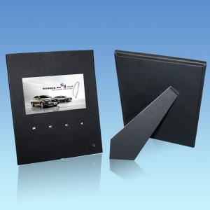 USB TFT 7 Inch Black Custom Video Greeting Cards With XP / Vista / Windows 7 System