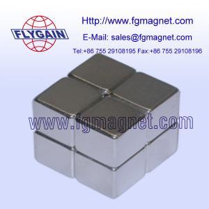 China N52 Grade Neodymium block magnet on sale