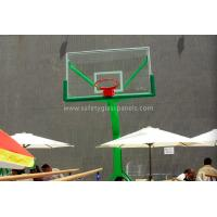 Cheap Custom Acrylic Glass Basketball Backboard With Basketball Hoop And Board for sale