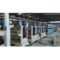 Cheap Two roller ACP Production Line 95mm 75mmTwin Screw Diameter For Aluminum Plate wholesale