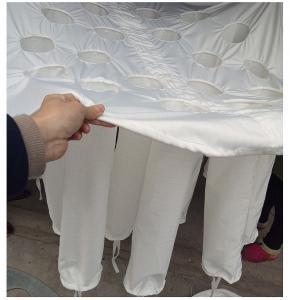 Cheap Fluidized Bed Spirulina Powder Granulator Bag / Spirulina Powder Spray Drying Bag for sale