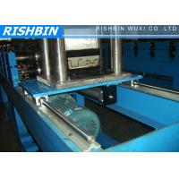 Cheap 0.7 - 1.2 mm Thickness Top Hat Channel Roll Forming Machine with Hydraulic Cutting wholesale