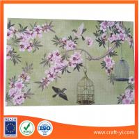 China Kitchen & Table Table Mat Heat Insulation coasters in printing Textilene fabric on sale