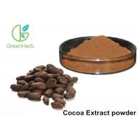 China Herbal Extract 10% 20% Theobromine Cocoa Extract powder on sale