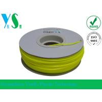 Cheap ABS 3D Printer Filament 1.75mm with Yellow Color For Paper Spool for sale