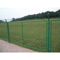 Cheap Green Powder Coated Wire Mesh Fencing , Galvanized Wire Fence For Residential Area for sale