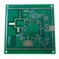 Cheap 8-layer PCB with ENIG finish for mechanical use, 0.6mm minimum via diameter, 0.3mm line width/space for sale