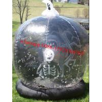 Cheap halloween snow globe inflatable for sale