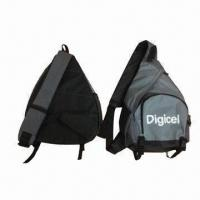 Cheap Mono strap backpack, made of 600D polyester for sale