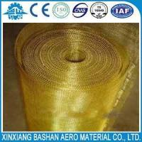 Cheap Electromagnetic Field Fabrics 150um 100um copper wire mesh by bashan for sale