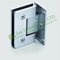 Cheap High Quality 90 degree Stainless Steel shower clamp,shower hinge,glass clamp,Satin finish for sale