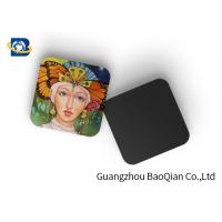 Cheap Square Wine Tea Cup Custom Printed Coasters 3D Lenticular Printing Service for sale