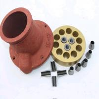 China Concrete Structure Prestressed Strands Round Anchor Multi Holes 12.7 Mm on sale