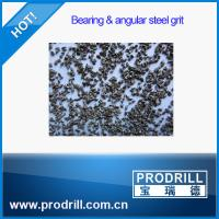 Quality G18 G25 G40 Bearing and Angular Steel Grit for granite cutting wholesale
