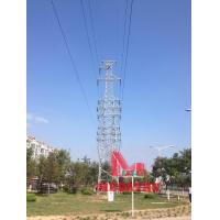 Buy cheap 110KV Five circuit tension transmission line steel tubulartower from wholesalers