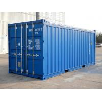 Cheap Optional Size Open Top Shipping Container 20 Foot Standard General Purposes for sale