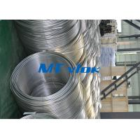 Cheap TP316 / 316L Stainless Steel Welded Super Long Coiled Tube For Petrochemical Industry for sale