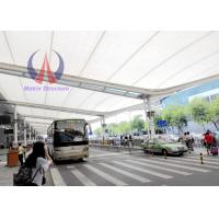 Cheap PTFE Membrane Corridor Tensile Roofing Structures‎ , Car Parking Tensile Structure for sale
