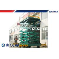 Cheap High strength steel Aerial Work Platform Scissor Hydraulic Platform Lift for cargo for sale
