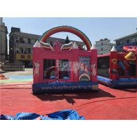 Cheap Eco - Friendly Commercial Unicorn Bouncer Inflatable Jumping Moonwalk for sale