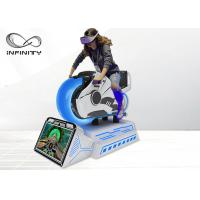 Cheap Dynamic Platform Moto Racing 9D VR Simulator With HD Display Screen for sale
